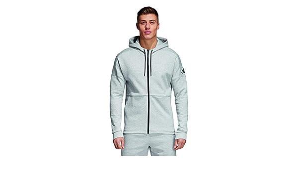 vêtements homme Veste à Capuche adidas ID Stadium Full Zip