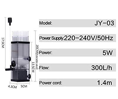 Dumai Filtre Écrémeur Superficiel de processeur de Film d'huile for éliminer l'eau de la Pompe Pompe d'écumeur de protéines for l'eau des Aquariums