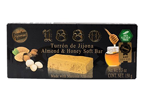 1880 Turron de Jijona Almond & Honey Soft Bar Weich - 150g