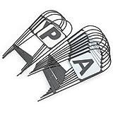 Stahl Hoop Dressur Marker (4-RSVP) Pferd Test Überarbeiten Studie Lernen