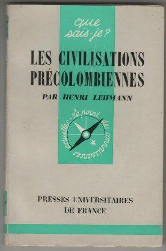 Les civilisations precolombiennes