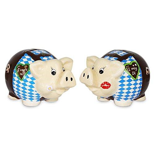 Preisvergleich Produktbild Sparschwein Sparsau Oktoberfestkasse Stammtisch Sparen Oktoberfest Spardose 18 cm