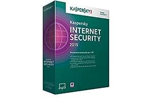 Kaspersky Lab Internet Security 2015, 1u, 1Y, Att, ITA