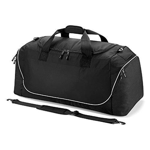 Quadra Teamwear Jumbo-Tasche Rot / schwarz / wei? Schwarz / Silber