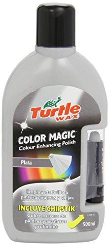 Turtle Wax FG7098 Cera Pintura Magic Plus, Plata, 500 ml