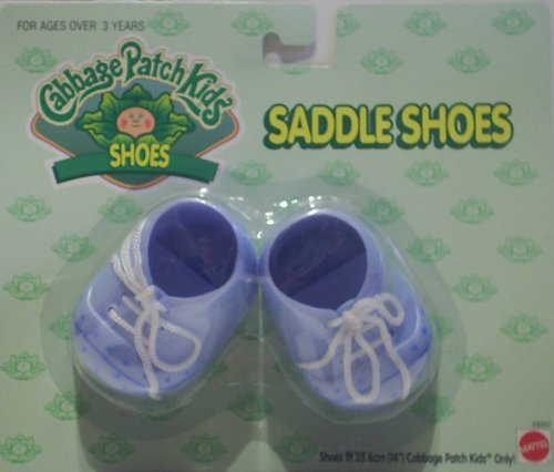CPK Cabbage Patch Kids Doll Blue Saddle Shoes 14'