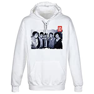 One Direction - Hoodie Black and White Photo (in L)