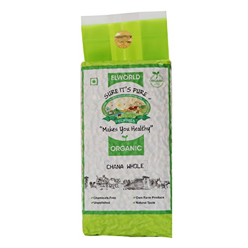 Elworld Organic Bengal Gram (Black Chana)- 500gX2 (Pack of 2)