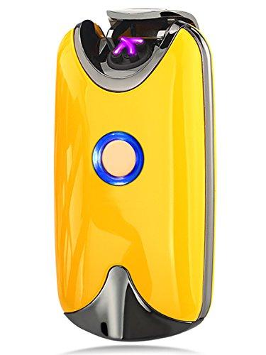 ONENICE Feuerzeug Lichtbogen Feuerzeug mit USB Umweltfreundlich Windfest Elegant und Schnell Wieder Aufladbar