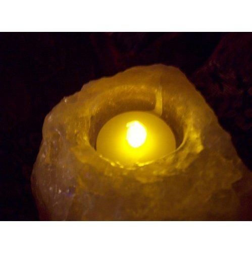 SODIAL(R) 12 El parpadeo velas conjunto funciona con pilas Parpadeos como una vida Batterry Operado real Vela Bateria duradera Tea Tealight Velas sin llama de la vela de la boda de la luz una docena larga