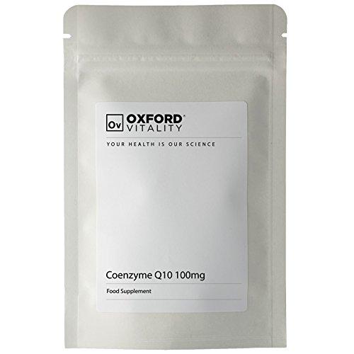 Oxford Vitality - Coenzym Q10 100 mg Kapseln (Coq10 Von Natur Aus 100mg)