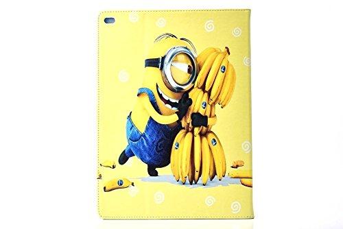 iPad 2,3,4 Minion Caso / Cattivissimo Me Pelle Sintetica Cartone Animato Intelligente Disney Caso di (Childrens Naturali Mobili)