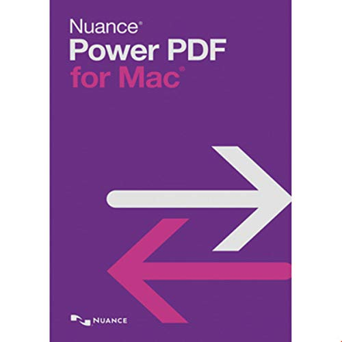 Power PDF 3 MAC | 1 Gerät | 1 Benutzer | Mac | Mac Aktivierungscode per Email - Nuance Software-download
