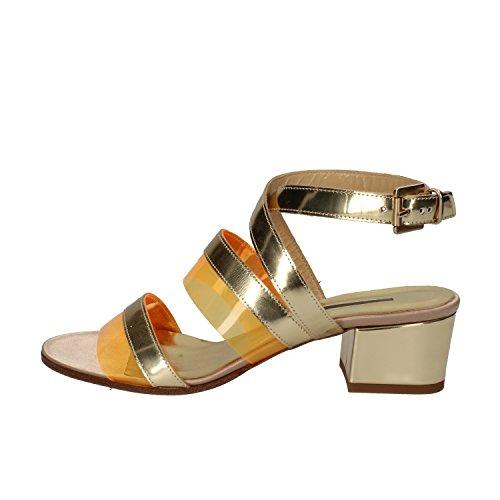 LEA FOSCATI sandali donna 37 EU oro pelle plastica AE56