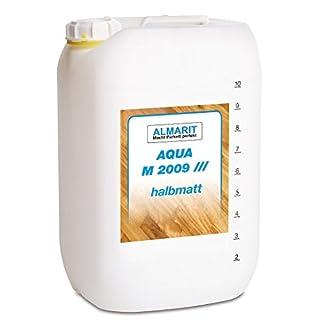 Almarit Aqua M 2009 halbmatt 10 Liter Kanister 1K-Parkettsiegel