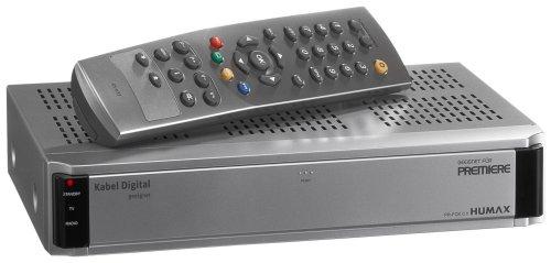 Humax PR Fox C MK II Digitaler Kabel-Receiver (mit SKY Kartenleser)  silber