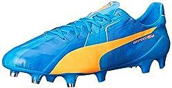 PUMA Men s Evospeed Sl H2H FG Soccer Shoe Orange Clown Fish 12 D(M) US