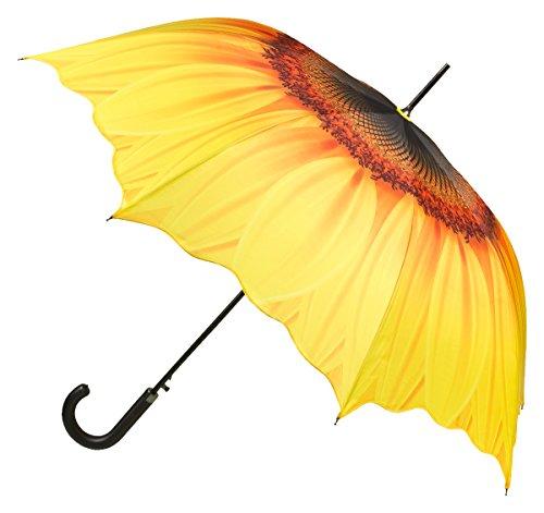 Regenschirm mit Motiv Sonnenblume