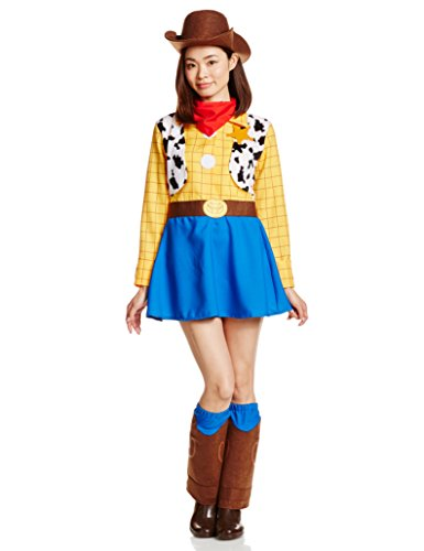 Disney Toy Story Woody Kostuem Damen 155cm-165cm ()