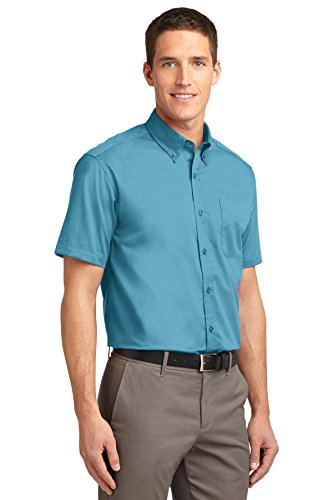 Port Authority Herren Poloshirt Blau - Maui Blue