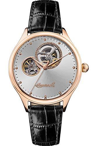 Ingersoll The Vamp Reloj para Mujer Analógico de Automático con Brazalete de Piel de Vaca I07001