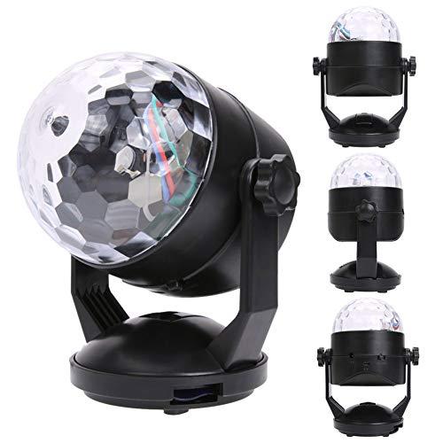 ound Aktiviert Party Beleuchtung USB Stecker/Batterie Stromversorgung Portable DJ Licht ()