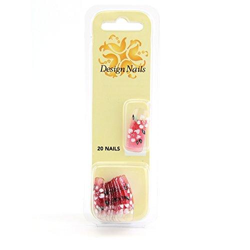 Nail Art Trendy Airbrush Nail Tips -