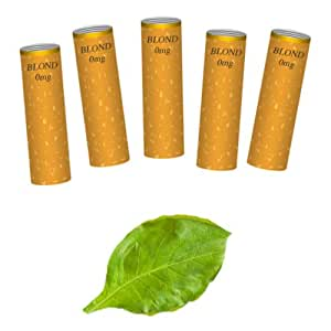 Cigaltern - recharge new1sn tabac - Lot de 5 recharges tabac blond sans nicotine pour cigarette new1 rechargeable