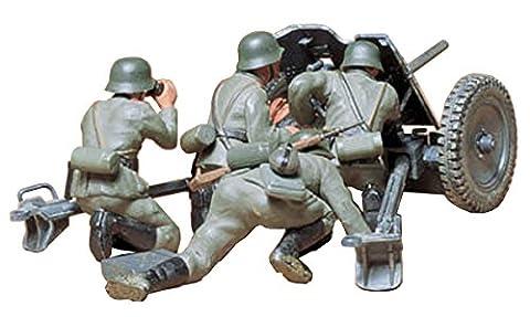 Tamiya–300035035–1: 35WWII Allemand Pistolet, 3,7cm Pak Antichar 35/36avec figurines (4)