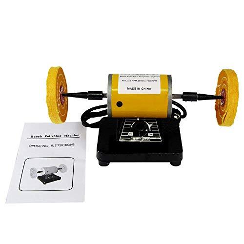 Bench Poliermaschine Bench Polierer Motor Jewery Polierer Variable Geschwindigkeit Jewery Polishing Motor 220V