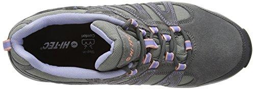 Hi-Tec Alto Ii Waterproof, Chaussures de Randonnée Basses femme Gris (steel/charcoal/lustre 052)