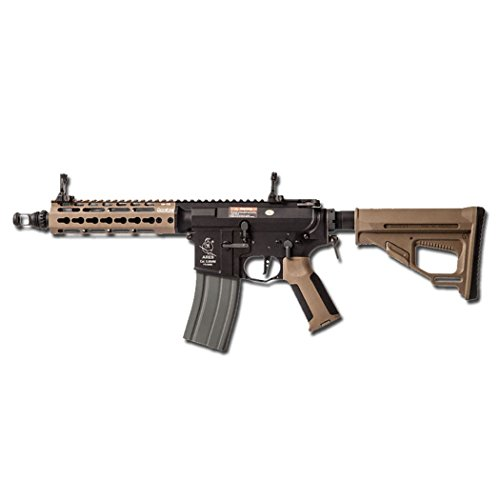 Ares FUCILE M4 AMOEBA PRO OCTARMS 7' KEYMOD FULL METAL TAN SOFTAIR 0,9 JOULE