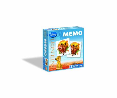 Clementoni 12865 - Memo Games Lion King
