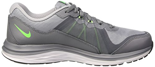 Nike  Dual Fusion X 2 (GS), Running mixte enfant Gris (COOL GREY/WLF GRY-WHT)