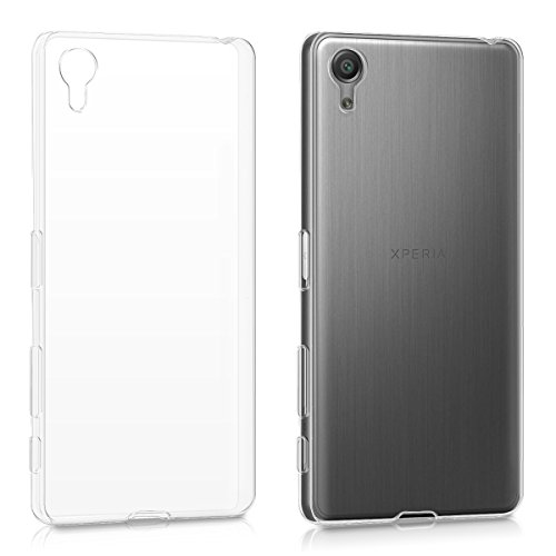 kwmobile Sony Xperia X Performance Hülle - Handyhülle für Sony Xperia X Performance - Handy Case in Transparent