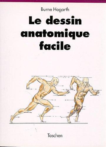 Le dessin anatomique facile par Burne Hogarth
