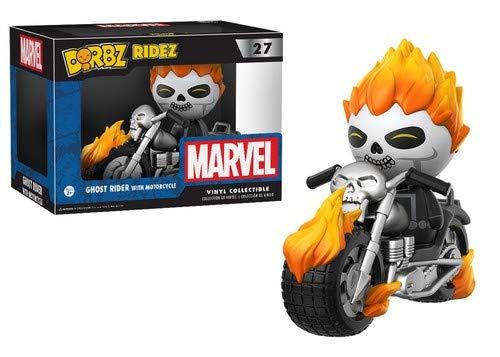 Dorbz Ridez Marvel Ghost Rider On Motorcycle Figura de...