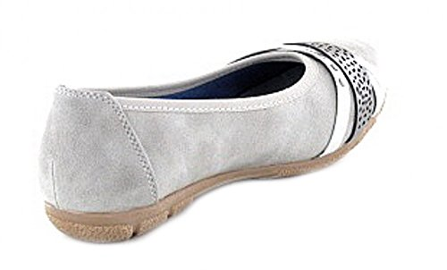Jane Klain Damen 221 899 Geschlossene Ballerinas Grau _203 (Grey)