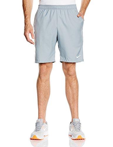 Nike Herren Shorts Court 9 Zoll, Dove Grey/Classic Charcoal/White, XXL, 645045-088 (Tennis Classic Shorts)