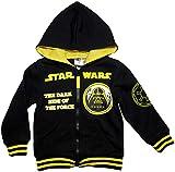 Star Wars Hoodie Jungen Sweatjacke Darth Vader (Schwarz, 116-122)