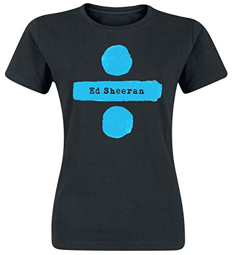 Sheeran, Ed Divide Logo Girl-Shirt schwarz XL