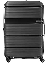 American Tourister Polypropylene 66 cms Linex Black Hardsided Check-in Luggage