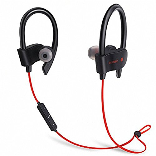 Panasonic GD22 Compatible Wireless Bluetooth In-Ear Headphones Headset Hands-Free Earphone With Mic And Volume Controller Noise Isolating Sports Earbuds, Sweatproof, Designed for Running, Jogging, Hiking Exercise And Gym (Black, Blue, Red, Green)  available at amazon for Rs.870