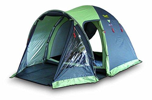 Bertoni Elba 4 Tenda da Campeggio, Verde Pisello