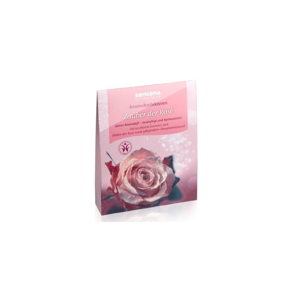 Sensena Naturkosmetik Aromabadekissen Zauber Der Rose 60 G