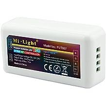 LIGHTEU, Módulo de control WiFi inalámbrico 2.4GHz LED RGB tiras controlador WLAN RGB, 2.4GHz Wireless WiFi Control Module LED RGB strips Controller WLAN RGB