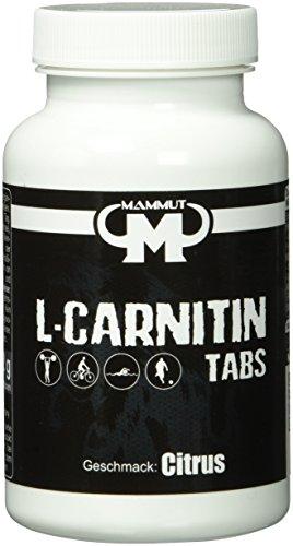 #Mammut L-Carnitin Tabs – Citrus Geschmack – 60 Stück, 1er Pack (1 x 132 g)#