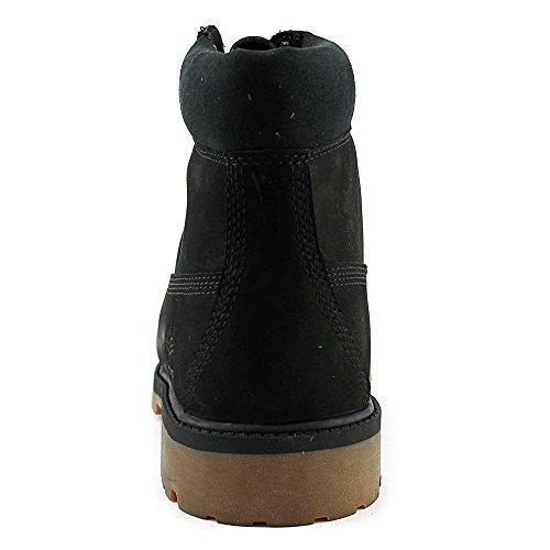 Timberland 6 In Prem Waterproof 4zo, Bottes Classiques Unisexe - Noir Adulte (noir)