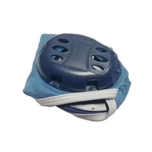 Cuffia pallanuoto CORSPORT Water polo Palla nuoto piscina protezione orecchie blu azzurro