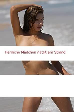 Mädchen nur nackt Strand